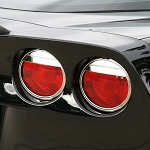 C6 Corvette 2005-2013 Attitude-Style Design Billet Tail Light Bezels