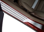 C6 Corvette 2005-2013 Stainless Steel Outer Door Guard - Style Options