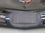 C5 Corvette 1997-2004 Stainless Steel Mesh License Plate Screen