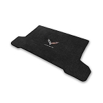 C7 Corvette Stingray/Z06/Grand Sport 2014-2019 Lloyd Ultimat Crossed Flags/Corvette Script Cargo Mats