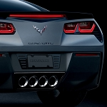 C7 Corvette 2014-2019 Hydro Carbon Fiber Billet License Plate Frame