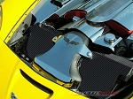 C6 Corvette 2005-2013 Hydro Carbon Fiber Radiator Cover