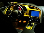 C7 Corvette Stingray/Z06/Grand Sport 2014-2019 Custom Painted Dash Cluster Panel