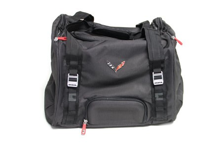 C7 Corvette Stingray/Z06/Grand Sport 2014-2019 70L Duffel w/ Crossed Flag Logo