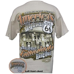 America's Highway Route 66 T Shirt