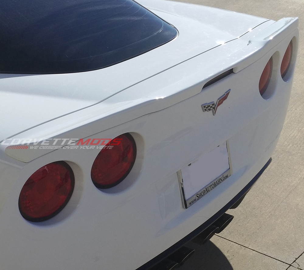 C6 Corvette 2005 2013 Custom Painted Zr1 Style Spoiler