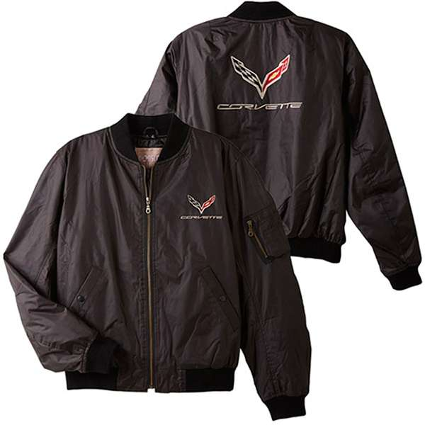 C7 Corvette Stingray Z06 Grand Sport 2014 Aviator Jacket