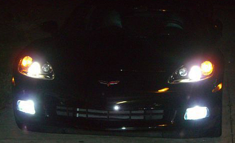C6 Corvette 2005-2013 Fog Light High Power LED Kit