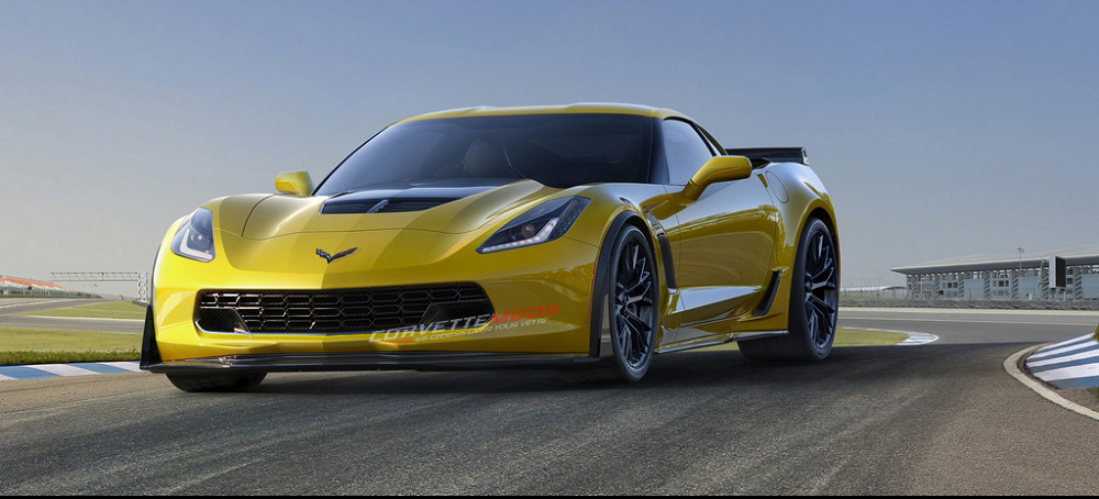 C7 Corvette Stingray/Z06/Grand Sport 2014-2019 Hydrocarbon Fiber Z06 Lower Grille Upgrade