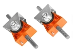 C5 C6 Corvette 1997-2013 PFADT Series Engine Mount Set - Orange