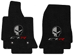 C7 Corvette Stingray/Z06/Grand Sport 2014-2019 Lloyd Ultimat Jake Skull/C7R Floor Mats