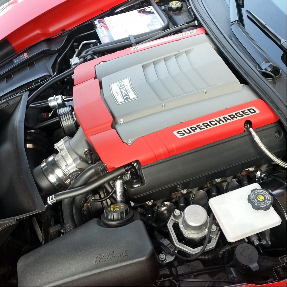C7 Corvette Stingray/Z51 2014-2019 Stage 2 Edelbrock E-Force Supercharger