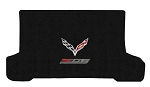 C7 Corvette Z06 2015-2019 Lloyd Ultimat Crossed Flags/Z06 Supercharged Cargo Mats