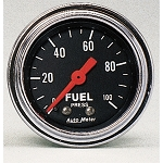 Autometer 2-1/6 inch Fuel Pressure Gauge 0-100 PSI - Chrome
