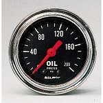 Autometer 2-1/6 inch Oil Pressure Gauge 0-200 PSI - Chrome