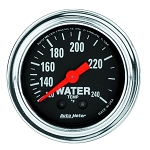Autometer 2-1/6 inch Water Temperature Gauge 120-240F - Chrome