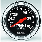 Autometer 2-1/6 inch Transmission Temperature Gauge 140-280F - Chrome