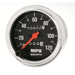 Autometer 3-3/8 inch Speedometer 0-120 MPH - Chrome