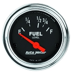 Autometer 2-1/16 inch Fuel Level Gauge 16-158 ohm - Chrome