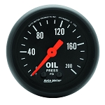 Autometer 2-1/16 inch Oil Pressure Gauge 0-200 PSI