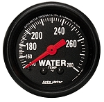 Autometer 2-1/16 inch Water Temperature Gauge 140-280F
