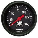 AutoMeter 2 1/16 Inch Air Pressure Gauge 0-150 PSI