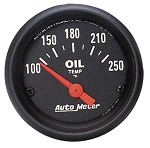 Autometer 2-1/16 inch Oil Temperature Gauge 100-250F