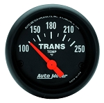 Autometer 2-1/16 inch Transmission Temperature Gauge 100-250F