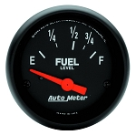 Autometer 2-1/16 inch Fuel Level Gauge 73-10 ohm GM SSE Z-Series