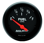 Autometer 2-1/16 inch Fuel Level Gauge 0-30 ohm GM SSE