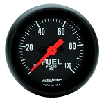 Autometer 2-1/16 inch Fuel Pressure Gauge 0-100 PSI Z-Series
