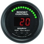 Autometer 2-1/16 inch Boost Controller Gauge 30 IN HG/30 PSI ES