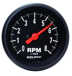 Autometer 2-1/16 inch In-Dash Tachometer 0-8000 RPM