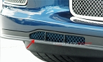 C6 Corvette Z06/Grand Sport 2006-2013 Custom Painted Air Dam Grilles Laser Mesh