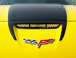 C6 Corvette Z06/Grand Sport/ZR1 2006-2013 Perforated Hood Vent Grille - Custom Paint Options