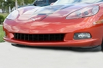 C6 Corvette 2005-2013 Black Powder-Coated Retro-Style Front Grille