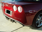 C6 Corvette 2005-2013 Chrome Rear Valance Trim
