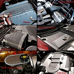 C5 Corvette 1997-2004 Perforated Stainless Steel Complete Engine Kit - Discounted