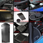 C6 Corvette Base 2005-2013 Hydro Carbon Fiber Perforated Complete Engine Kit - Discounted