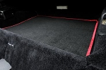 C3 Corvette 1968-1982 Black Cut-Pile Cargo Mat w/ Accent OE Interior Color Binding