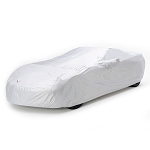 C7 Corvette Stingray/Z51/Z06/Grand Sport 2014-2019 Embossed Intro-Guard Car Cover - Indoor/Outdoor - Silver