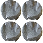 Weatherproof Tire Covers - Set of 4 - Fits 27in - 29in Tire Diameter