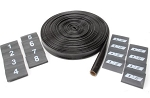 DEI Protect-A-Wire 25Ft Black V8 Kit