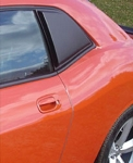 2005-2014 Ford Mustang ABS Side Window Scoops - Year Option