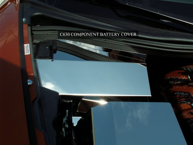 C6 Corvette 2005-2013 Battery Cover - Polished
