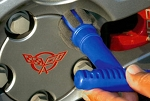 Lug Nut Wheel Detailing Brush
