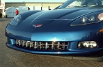 C6 Corvette 2005-2013 Retro-Style Grille - Polished