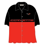 C6 Corvette 2005-2013 David Carey Split Design Shirt - Medium