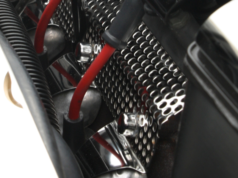 C6 Corvette Base/Grand Sport 2005-2013 Perforated Header/Manifold Guards