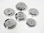 C6 Corvette 2005-2013 Billet Chrome Polished Caps Cover Complete Set